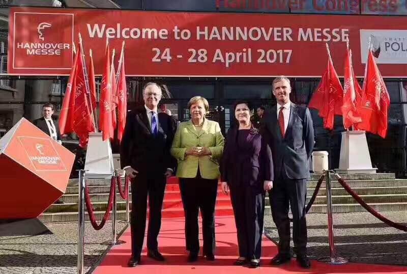 圆满结束德国汉诺威工业展